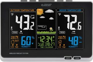 Weather Station Software closeup