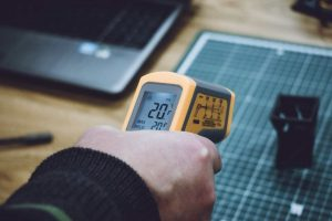 infrared thermometer measurement